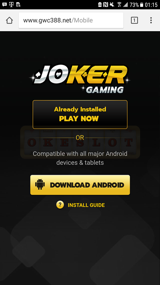 cara main jokergaming di android okeslot